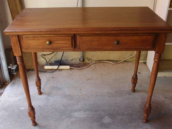 small desk, console table, craigslist bargains