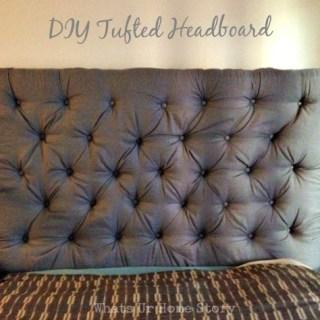 Reader Showcase – DIY Tufted Headboard