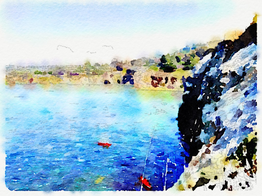 Waterlogue app, Turn Any Photo into Watercolor