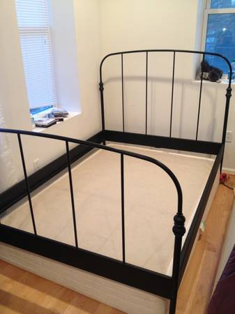 ikea bed, craigslist treasures
