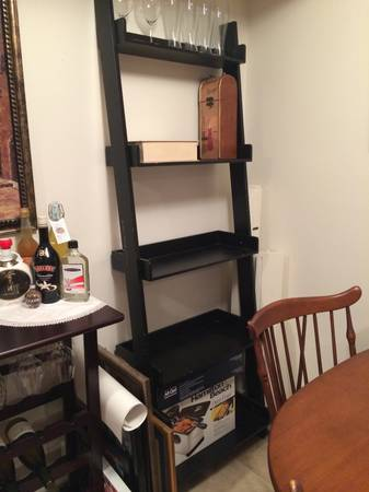 craigslist treasures, ladder shelf