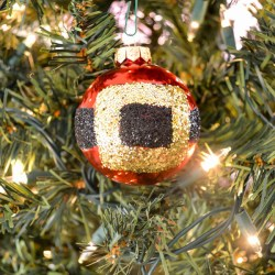 DIY Santa belt ornament