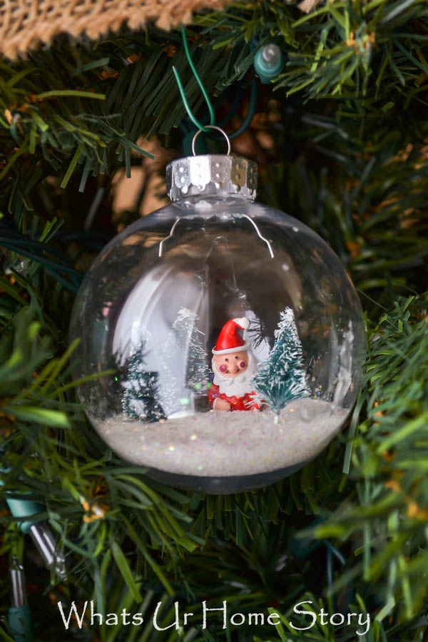 Snow Globe Ornament Tutorial