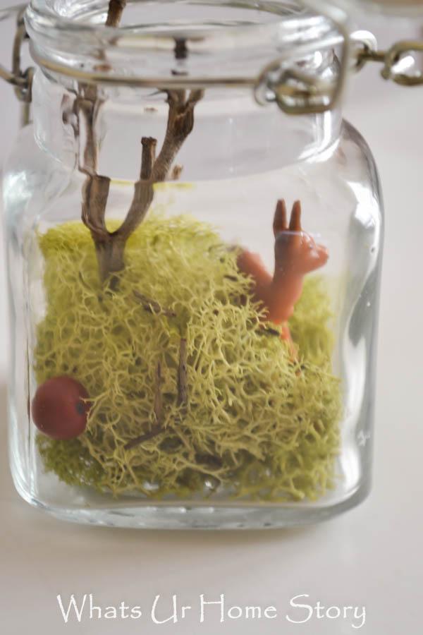 Terrarium Ornament - Handmade Christmas Decor