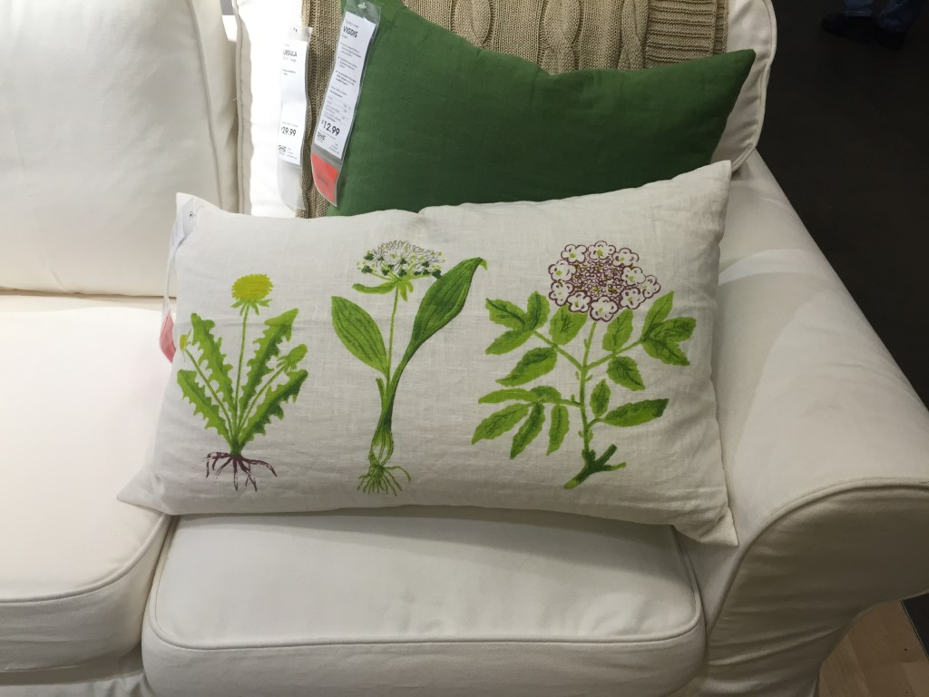 ikea shopping - Dorthy floral pillow cover