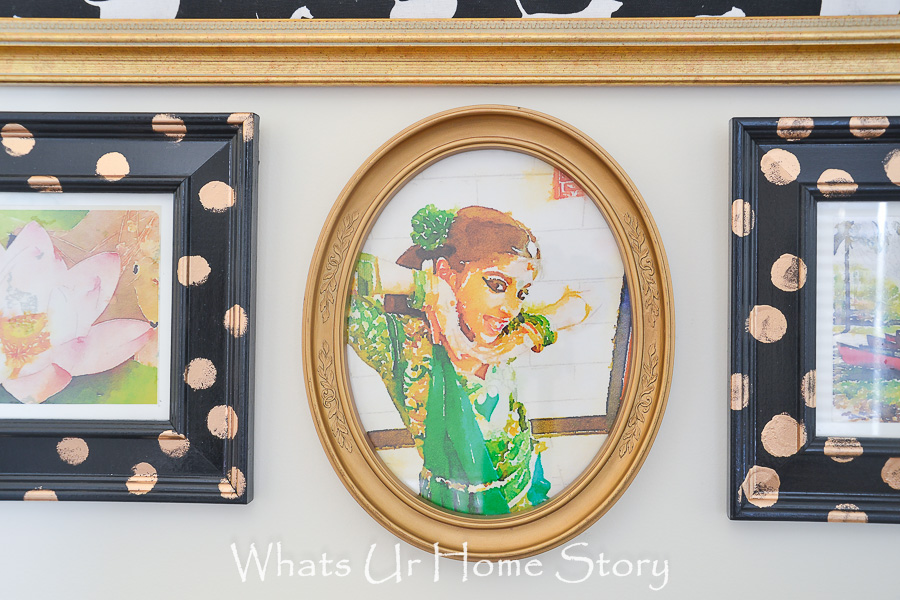 Budget friendly art for your home - take watercolor print of your favorite photographs