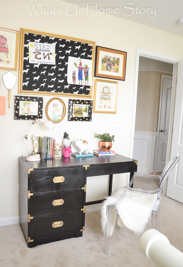 Hollywood glam girls room