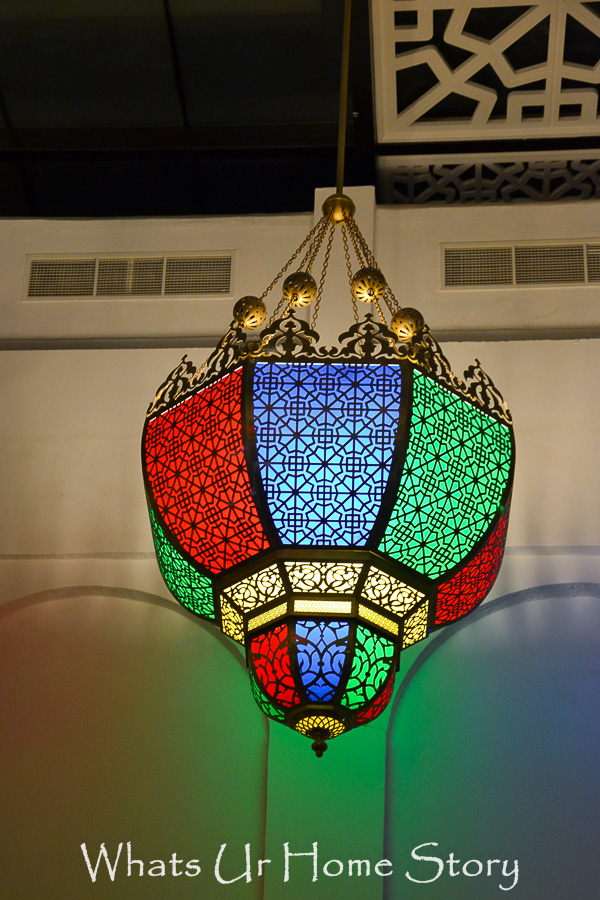middle eastern chandelier -doha