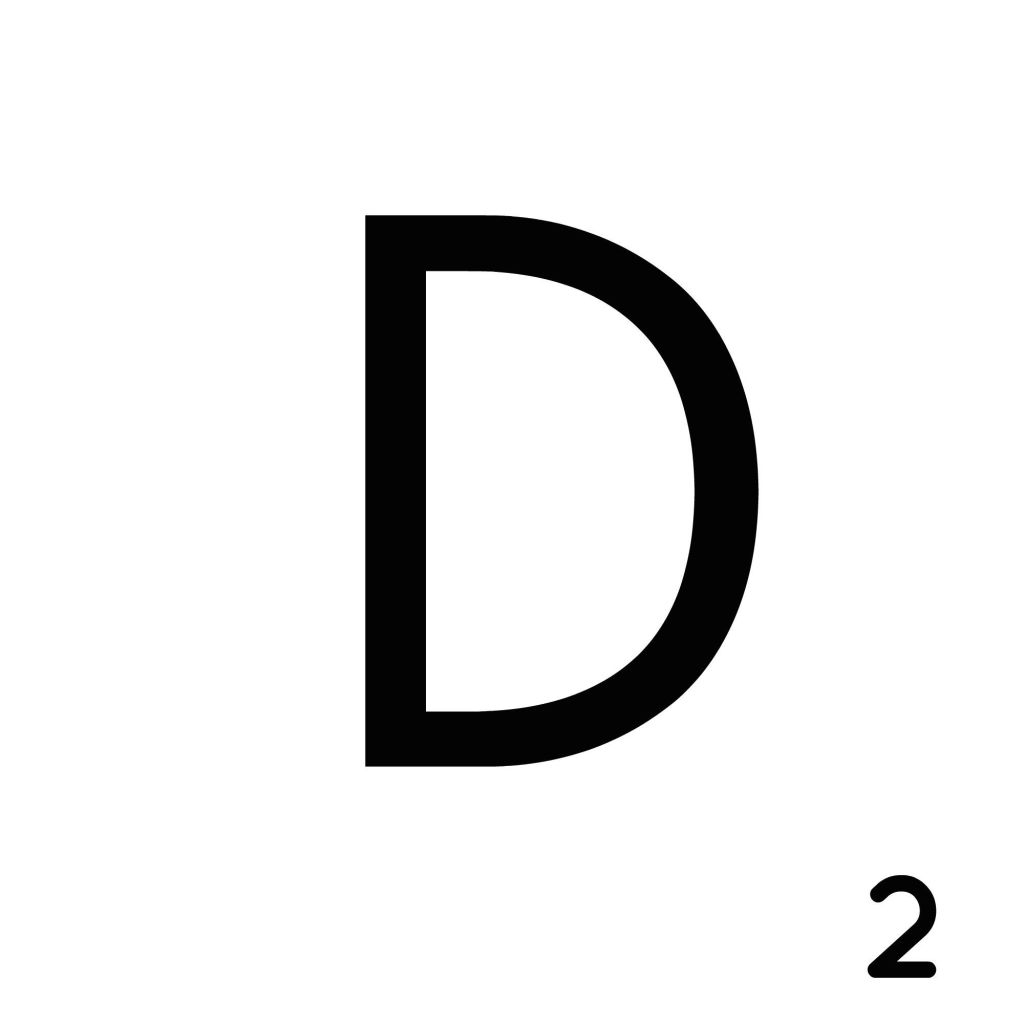 Scrabble Letter D__ Whats Ur Home Story