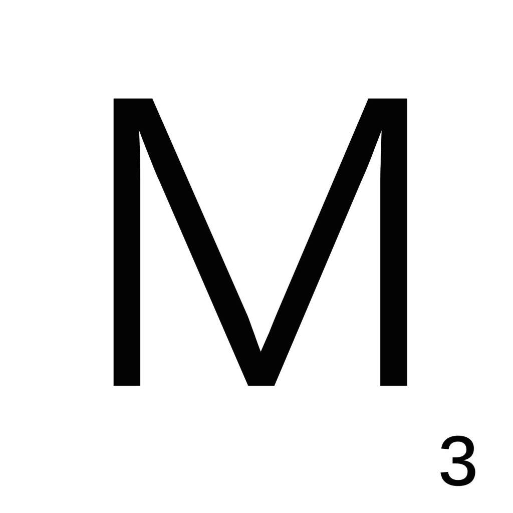 Scrabble Letter M_ Whats Ur Home Story