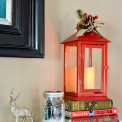 holidays with Hallmark -Flickering Lantern