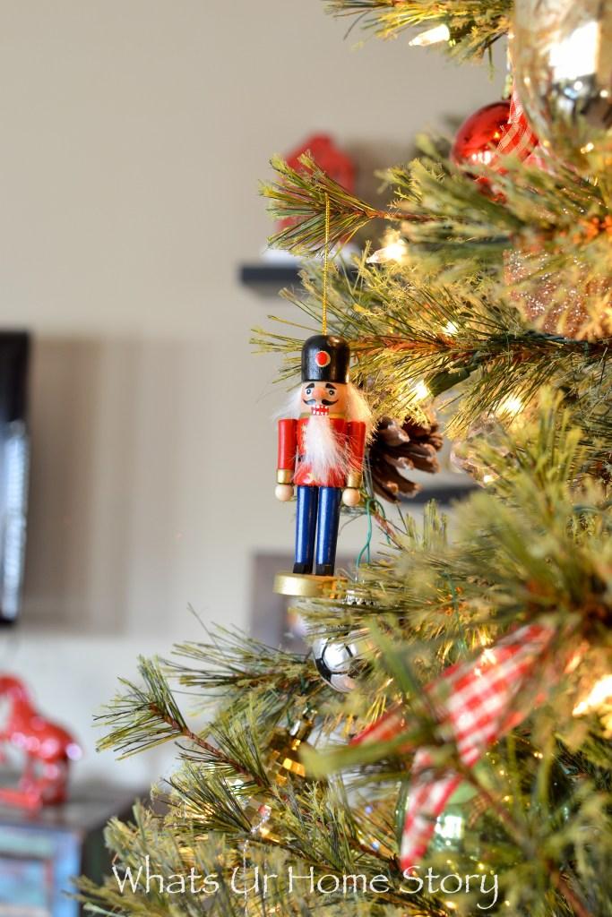 Nut Cracker Christmas Tree Ornaments