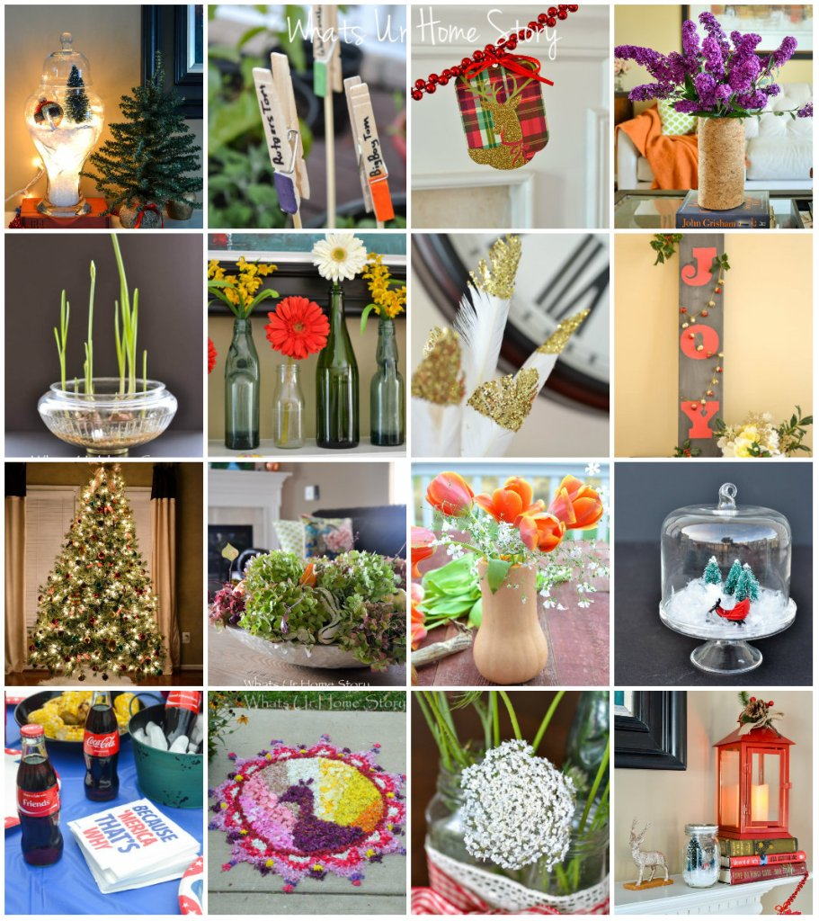 Whats Ur Home Story Seasonal Projects 2015