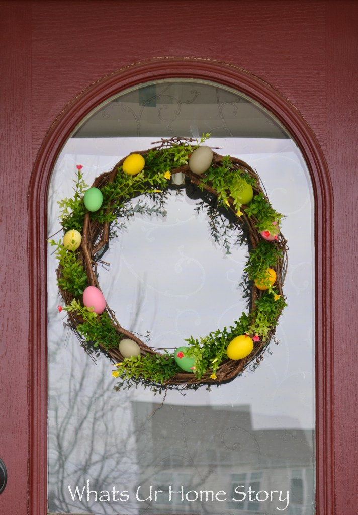 Easter Egg Wreath and other Easter Craft Ideas