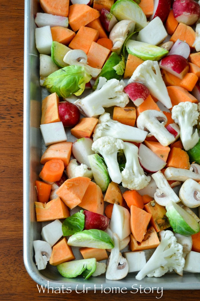 Herb roasted vegetables - whole 30 compliant