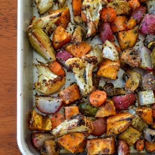 Roasted Vegetables Breakfast Hash – Whole30 Approved