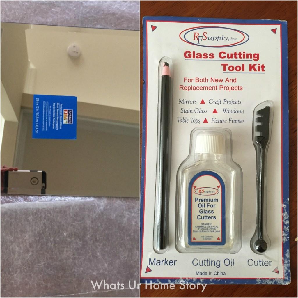 Glass cutting tool kit