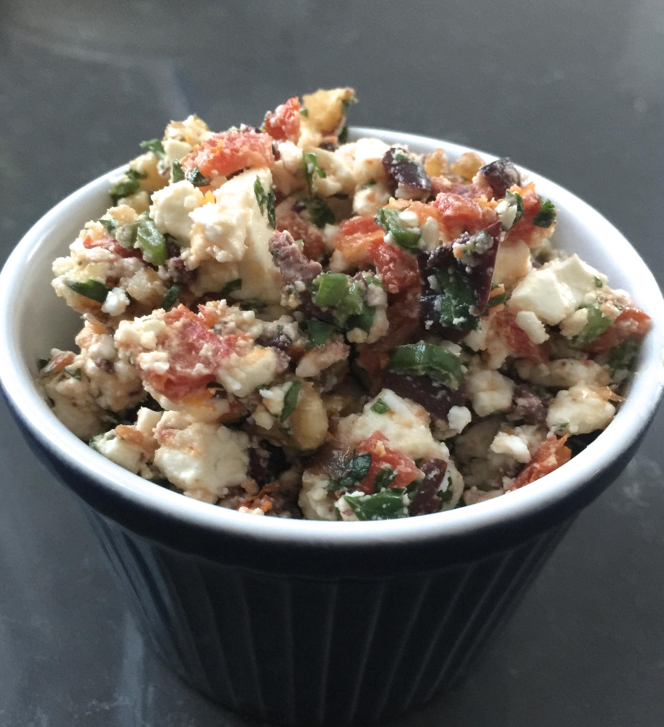 Mediterranean Feta Salsa – What Susan Eats