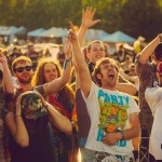 Attendees Dancing