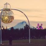 Disco Mt Hood Sunset