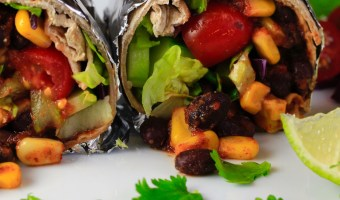 Delicious, Super Quick and Easy Burritos