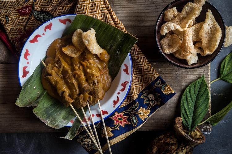 Sate padang (West Sumatra Satay)