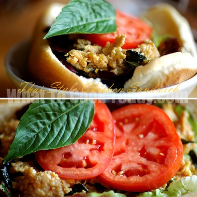 THAI-STYLE CHICKEN SANDWICH