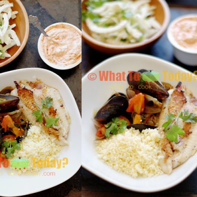 30-MINUTE MEAL: SERIOUSLY GOOD FISH TAGINE WITH FENNEL AND LEMON SALAD