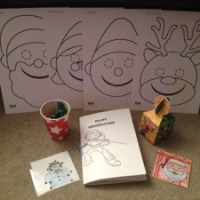 Christmas Eve activity bundle