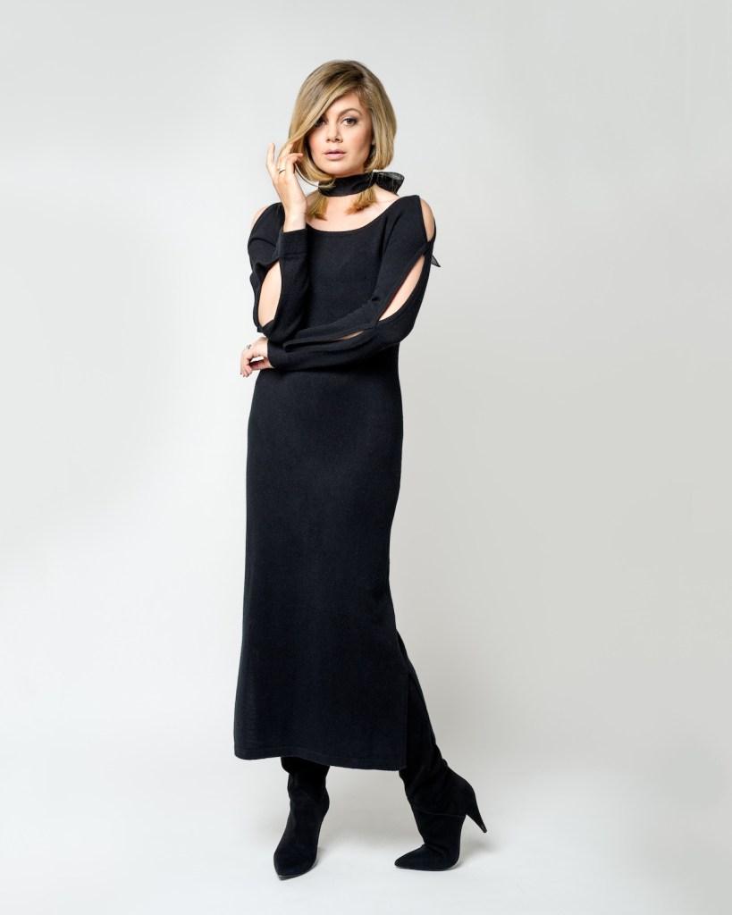 cashmere-dress-black