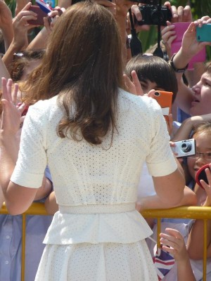 Royal Tour 2012: Day 2 – Kate in Alexander McQueen