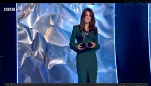 Kate's First Appearance Since Hospitalization: McQueen at BBC SPOTY Awards 2012