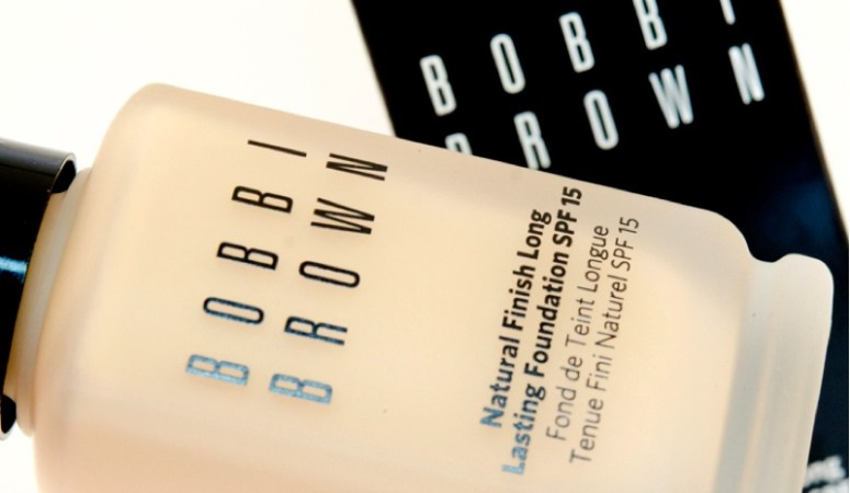bobbi brown foundation bottle