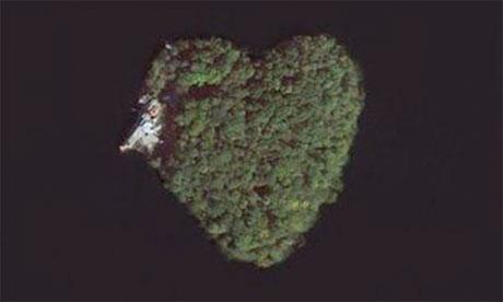 Petre Island New York Heart Island