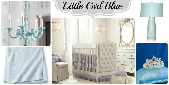 blue nursery collage