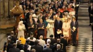 Kate Dazzles at 60th Coronation Service