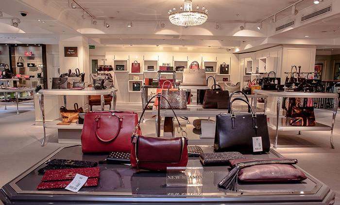 Fortnums handbag section small