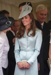 The Duchess of Cambridge attends the Order of the Garter Service