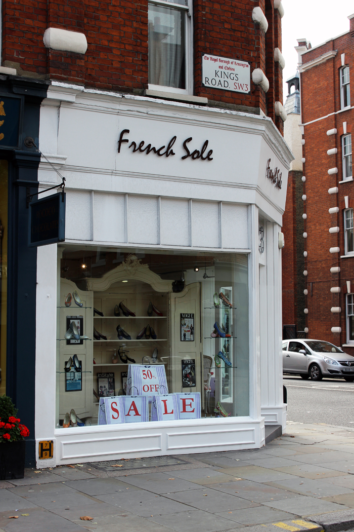 French Sole shop