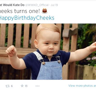 How to Celebrate Prince George's Birthday