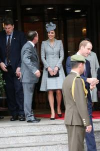 The Duke and Duchess of Cambridge welcome President on Singapore State Visit