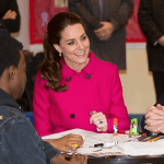 William and Kate Visit The Door / CityKids in New York