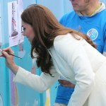The Duchess of Cambridge visits Portsmouth with the 1851 Trust