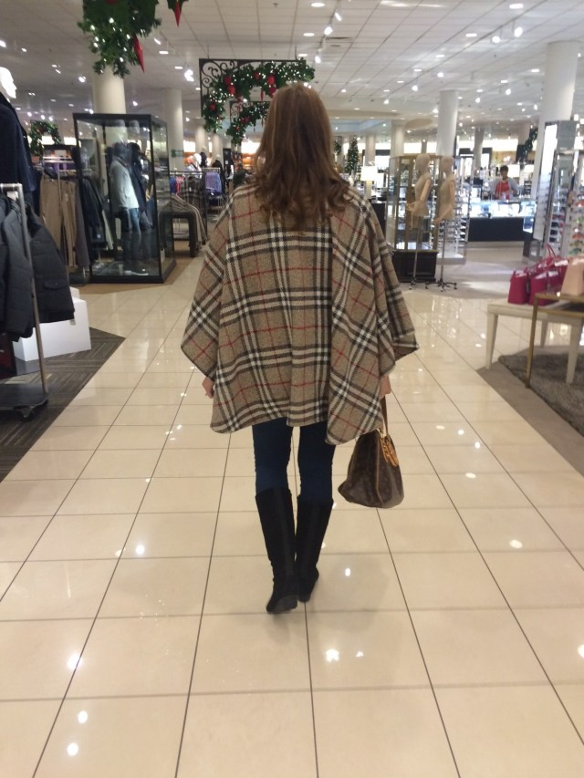 Burberry Cape 2