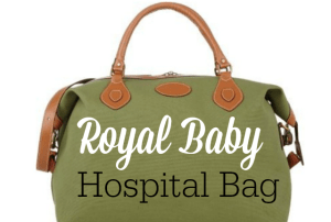 What Kate Might Pack In Her Hospital Bag