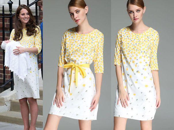 RepliKate Kate's Buttercup Yellow Dress