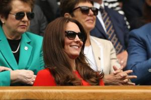 The Duke and Duchess of Cambridge cheer on Andy Murray at Wimbledon