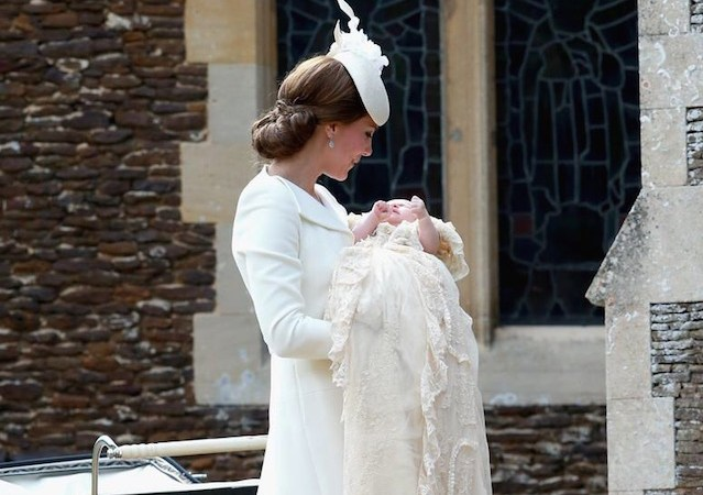 Princess Charlotte Elizabeth Diana is christened at St. Mary Magdalene Church in Sandringham