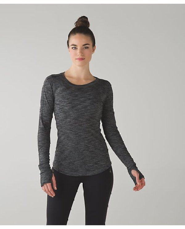 Lululemon 5 mile long sleeve - Considered by the Duchess of Cambridge at Lululemon