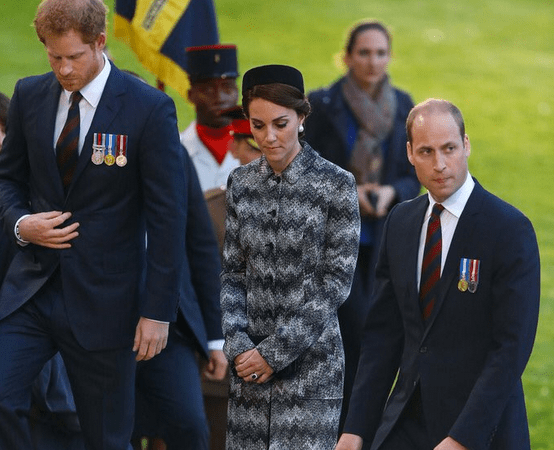 Kate, William & Harry in France for Battle of the Somme Ceremony